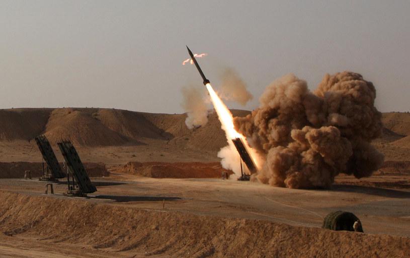 Iran przeprowadził próbę pocisku balistycznego /AFP