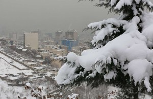 Iran sparaliżowany przez śnieg
