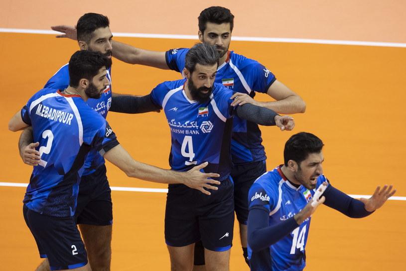 Irańczycy zdobyli komplet punktów w meczu z Bułgarią /PAP/EPA