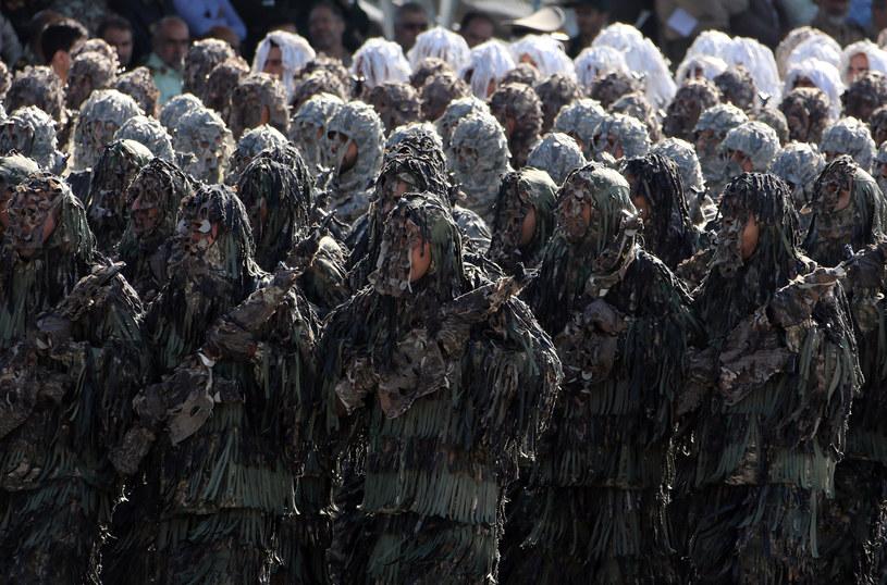 Irańscy żołnierze /ATTA KENARE /AFP