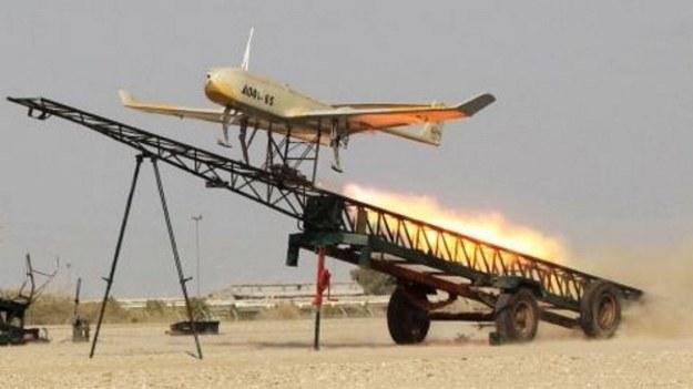 Irański dron /materiały prasowe
