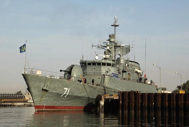 Irański okręt wojenny /AFP