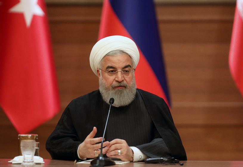 Irański prezydent Hasan Rowhani /ADEM ALTAN /AFP