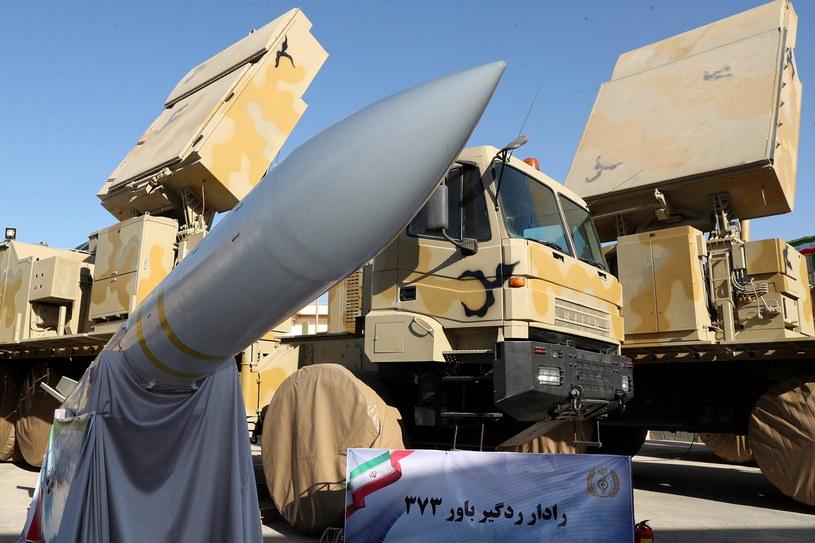 Irański system obrony powietrznej Bawar-737 /IRANIAN PRESIDENCY OFFICE HANDOUT /PAP/EPA