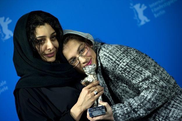 Irańskie aktorki Sareh Bayat i Sarina Farhadi /AFP
