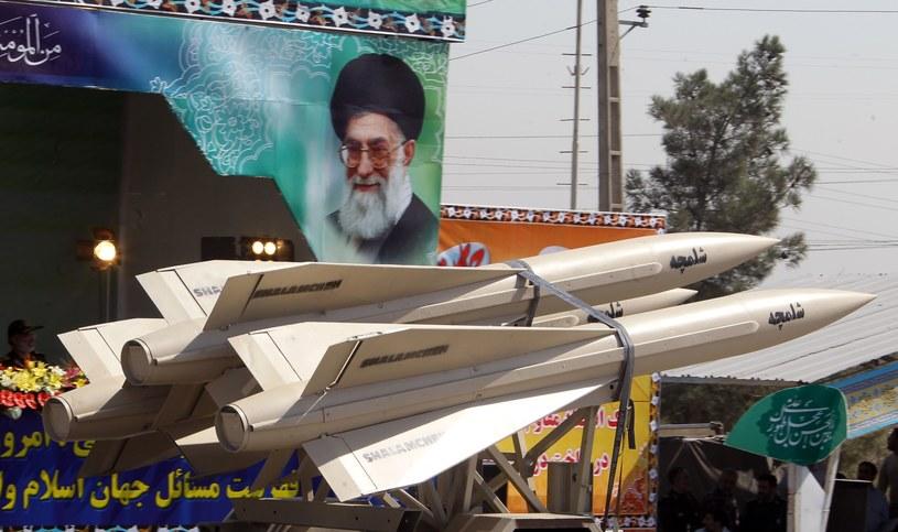 Irańskie pociski rakietowe /AFP