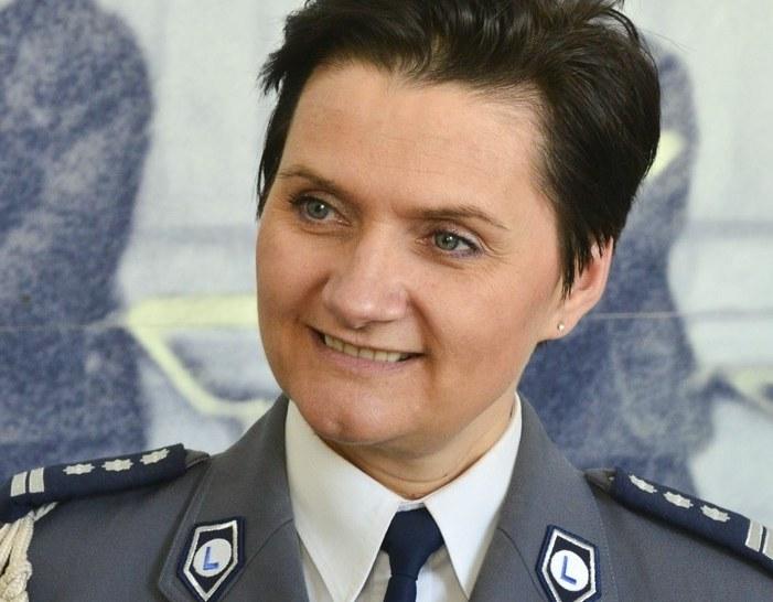 Irena Doroszkiewicz - komendant wojewódzka opolskiej policji /Włodzimierz Wasyluk /East News