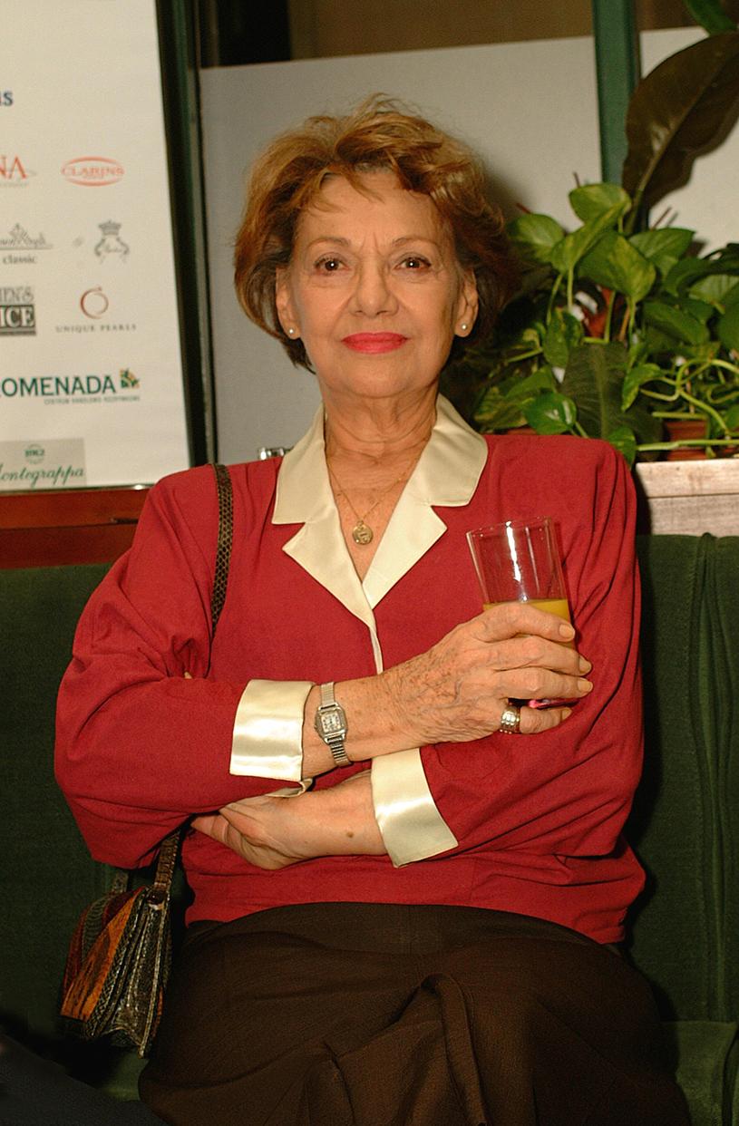 Irena Dziedzic, 2002 rok /Prończyk /AKPA