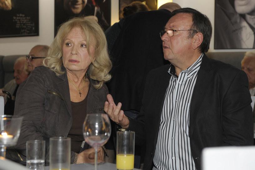 Irena Karel, na zdj. ze Zbigniewem Buczkowskim /Niemiec /AKPA
