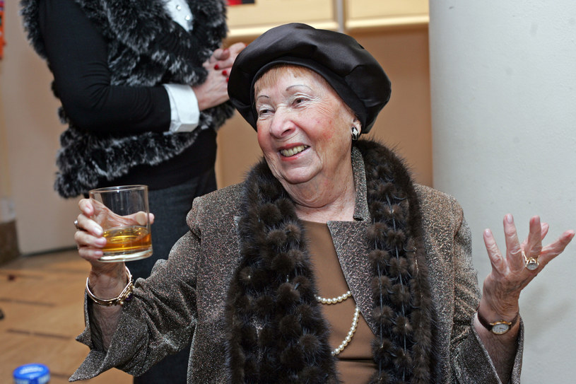 Irena Kwiatkowska, 2008 rok /Baranowski /AKPA