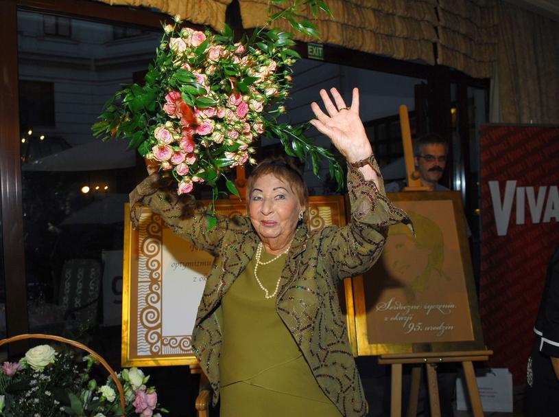 Irena Kwiatkowska świętuje swoje 95 urodziny /Tricolors /East News