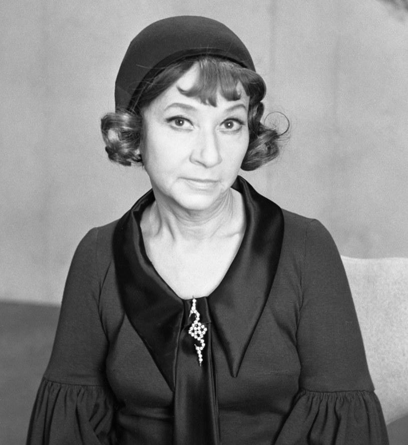 Irena Kwiatkowska w 1969 roku /TVP