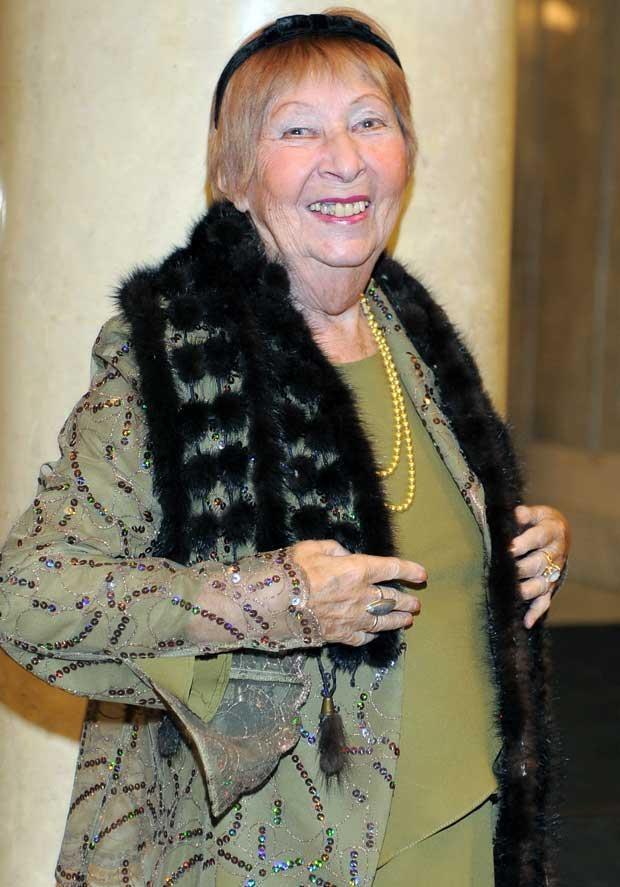 Irena Kwiatkowska w 2008 roku, fot. Andras Szilagyi  /MWMedia