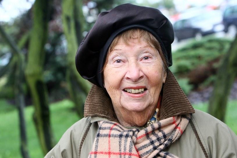 Irena Kwiatkowska w 2008 roku. Miała wówczas 96 lat /LUKASZ OSTALSKI/REPORTER /East News