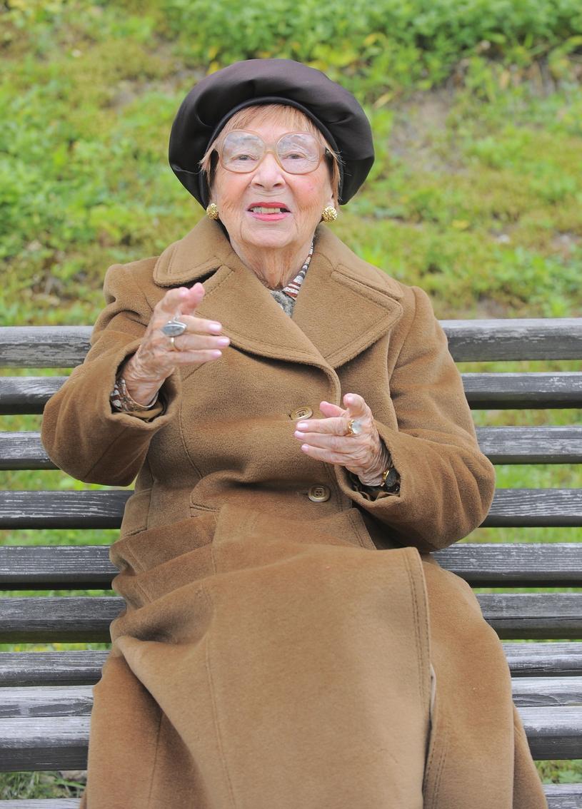 Irena Kwiatkowska w 2009 podczas pikniku w Skolimowie /Tricolors /East News