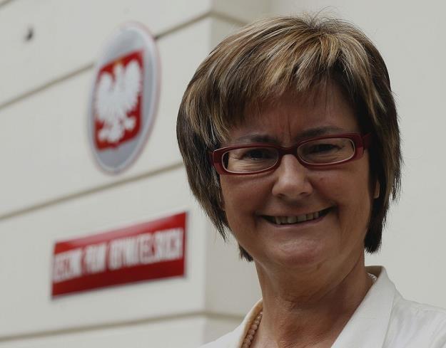 Irena Lipowicz, rzecznik praw obywatelskich. Fot. Andrzej Iwańczuk /Reporter