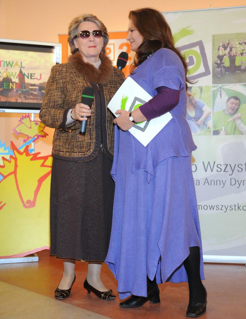 Irena Santor i Anna Dymna /Andras Szilagyi /MWMedia
