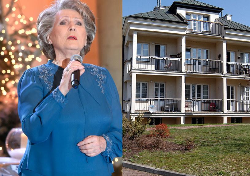 Irena Santor wraz z mężem przebywała w domu opieki w Skolimowie /Piętka Mieszko/Niemiec /AKPA