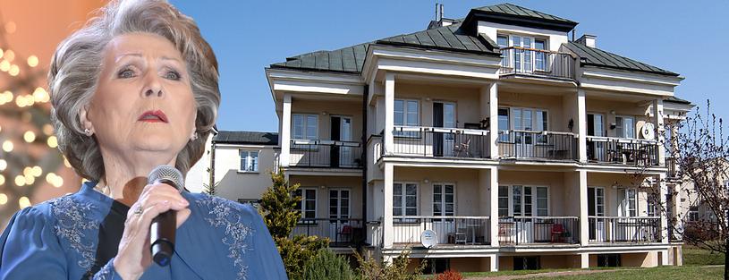 Irena Santor wraz z mężem przebywała w domu opieki w Skolimowie