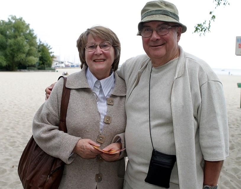 Irena Santor z mężem /Piotr Fotek /Reporter