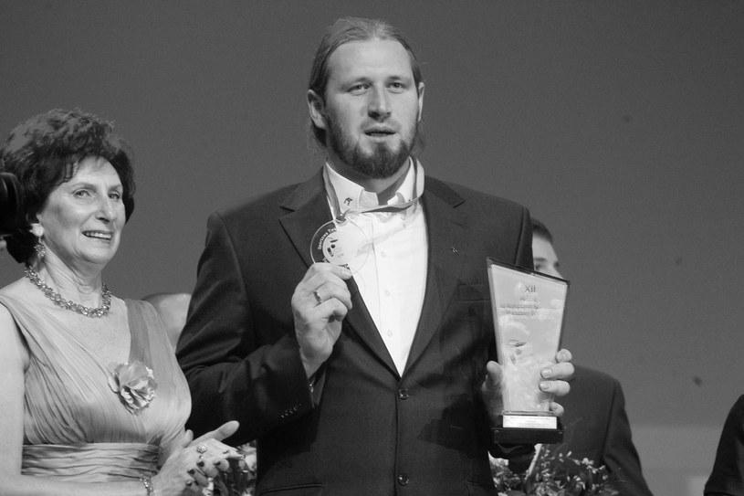 Irena Szewińska i Tomasz Majewski /WOJCIECH ARTYNIEW /East News