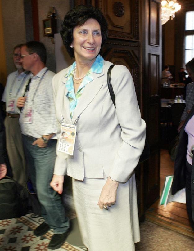 Irena Szewińska (na zdjęciu) jest pod ogromnym wrażeniem Ergo Areny /AFP