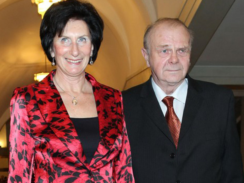 Irena Szewińska ze swoim mężem i trenerem Januszem /East News