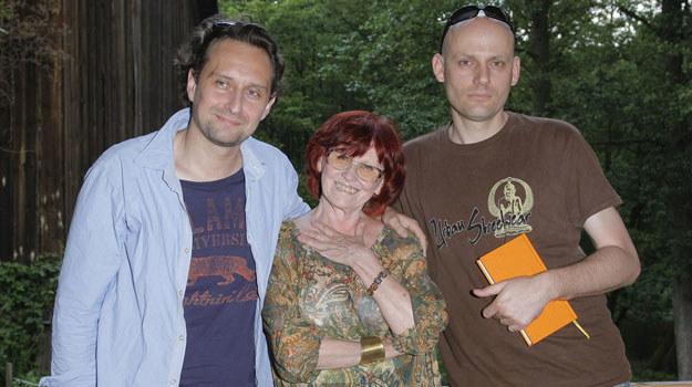 Irena Telesz, Maciej Wierzbicki i Marek Kałużyński / Engelbrecht /AKPA