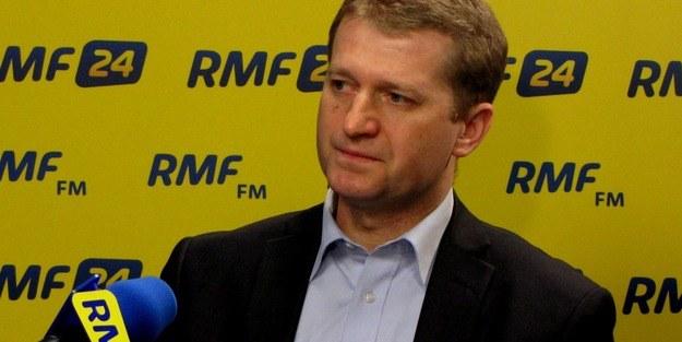 Ireneuś Raś był gościem Kontrwywiadu RMF FM /RMF