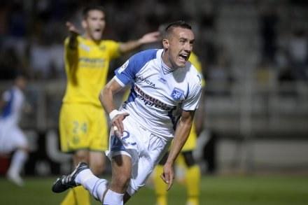 Ireneusz Jeleń to skarb polskiej piłki i Auxerre. /AFP
