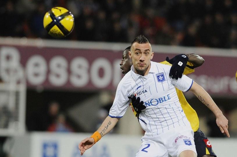 Ireneusz Jeleń w barwach Auxerre /AFP