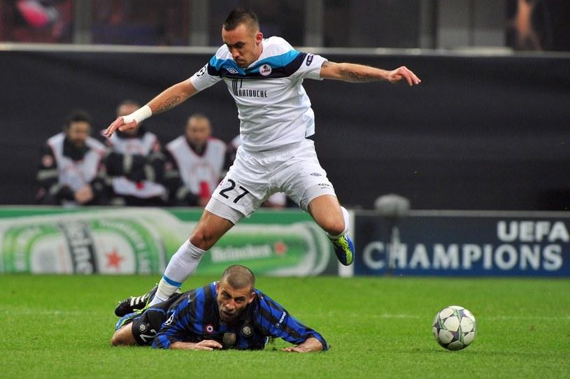 Ireneusz Jeleń w barwach Lille /AFP