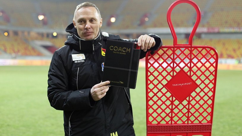 Ireneusz Mamrot, trener Jagiellonii Białystok /Newspix