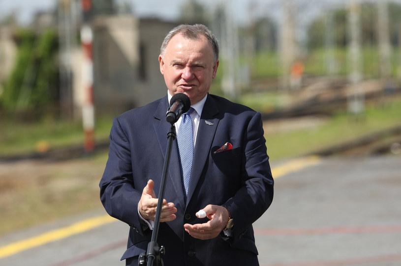 Ireneusz Merchel, prezes PKP PLK /Tomasz Jastrzębowski /Reporter