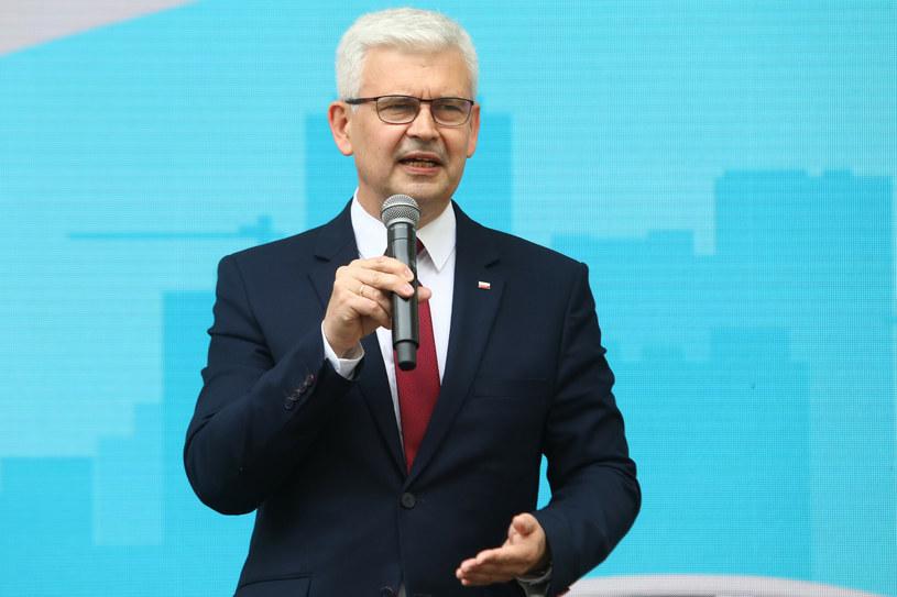 Ireneusz Zyska, sekretarz stanu w Ministerstwie Klimatu i Środowiska, pełnomocnik rządu ds. OZE /Tomasz Jastrzębowski /Reporter