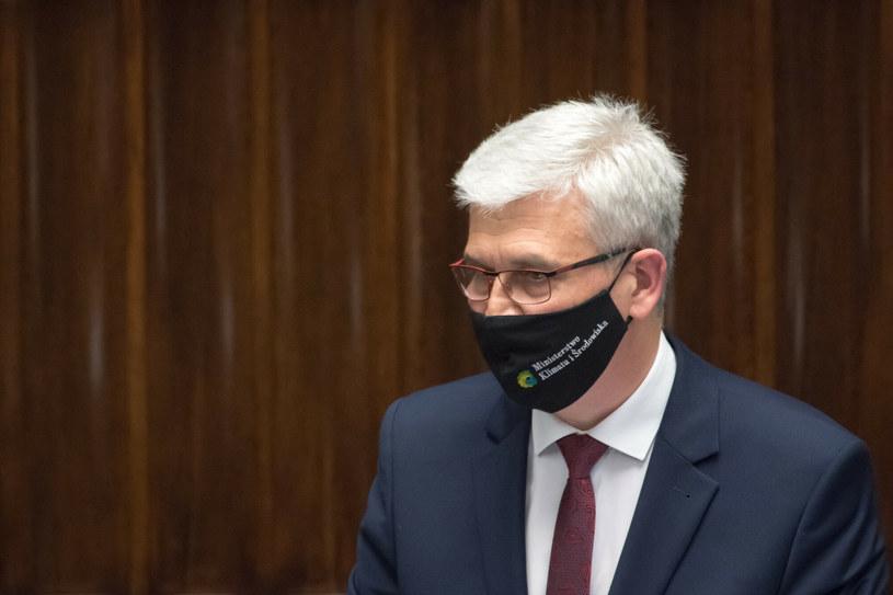 Ireneusz Zyska, wiceminister klimatu i środowiska /Wojciech Stróżyk /Reporter