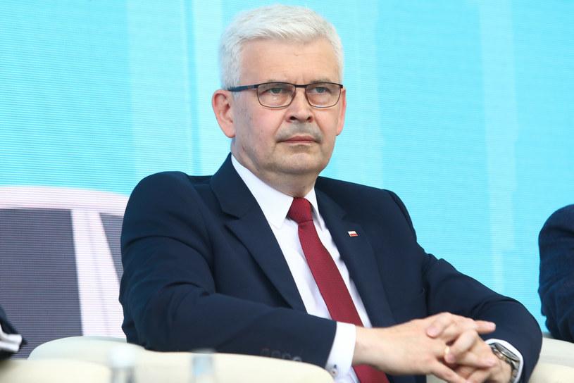 Ireneusz Zyska, wiceminister klimatu i środowiska /Tomasz Jastrzębowski /Reporter