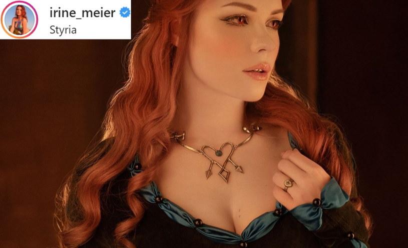 Irina Meier - fragment zdjęcia zamieszczonego w serwisie Instagram.com/ na profilu @irine_meier /materiały prasowe