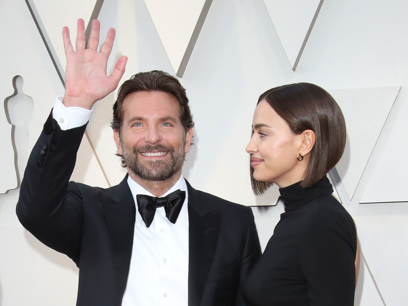 Irina Shay i Bradley Cooper podczas eventu /Getty Images