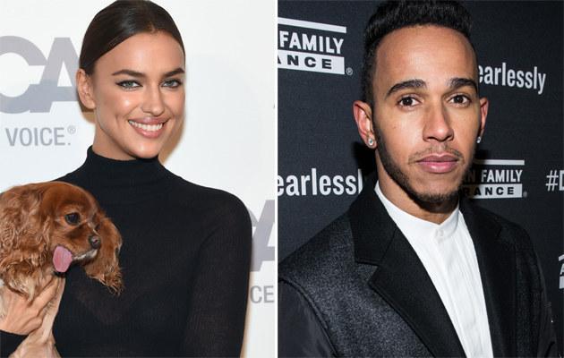 Irina Shayk i Lewis Hamilton mają się ku sobie! /Jamie McCarthy, Dave Kotinsky /Getty Images