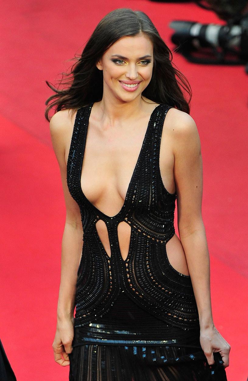 Irina Shayk na festiwalu filmowym w Cannes w 2013 roku /Gareth Cattermole /Getty Images