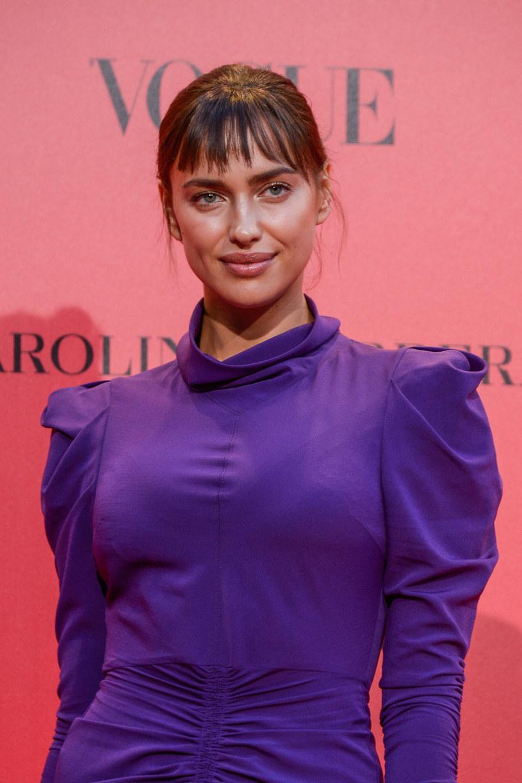 Irina Shayk na imprezie Vogue'a /Carlos Alvarez /Getty Images