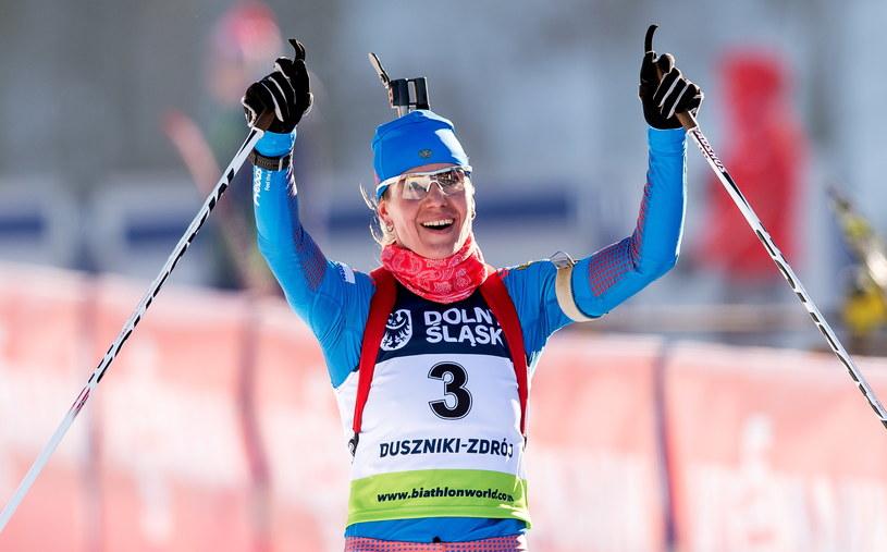 Irina Starych wygrała bieg na 10 km na dochodzenie /Maciej Kulczyński /PAP
