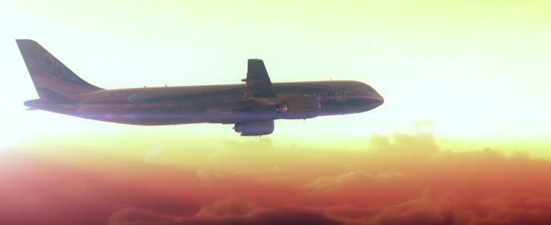Irkut MC-21 w trakcie lotu /materiały prasowe