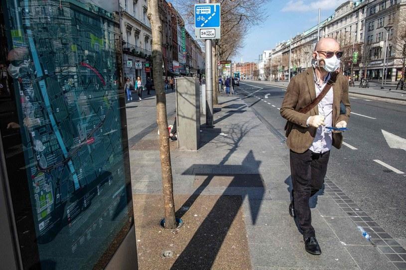 Irlandia liczy straty. Zanotowano najwyższe w historii bezrobocie. /PAUL FAITH    /AFP