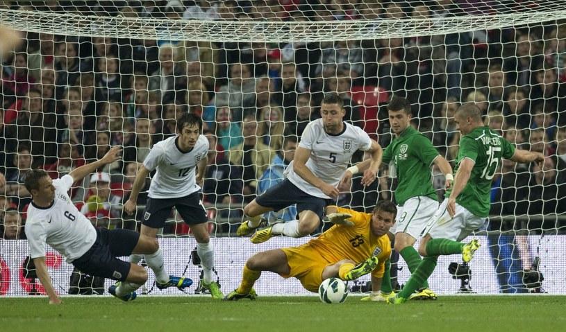 Irlandia zagra z Anglią w Dublinie /AFP