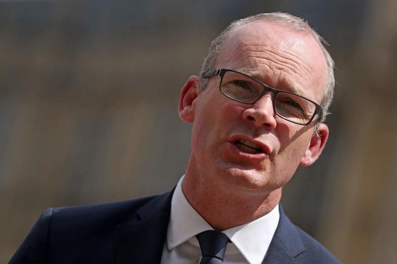Irlandzki minister spraw zagranicznych Simon Coveney /AFP