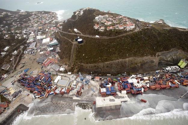 Irma pustoszy Karaiby /Gerben van Es/DUTCH DEPARTMENT OF DEFENSE / HANDOUT /PAP/EPA