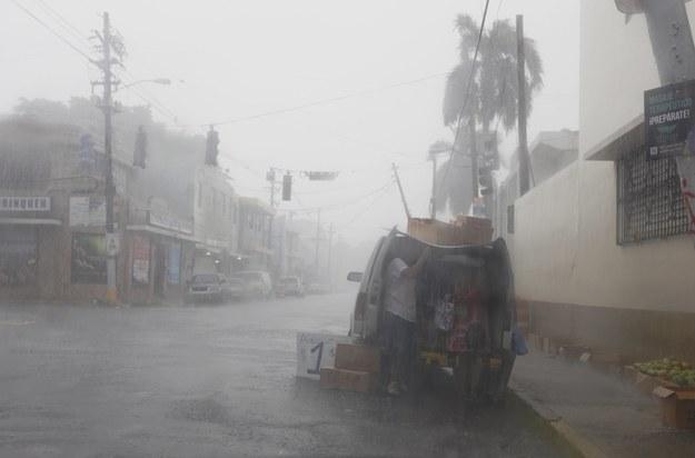 Irma w natarciu /Thais Llorca /PAP/EPA
