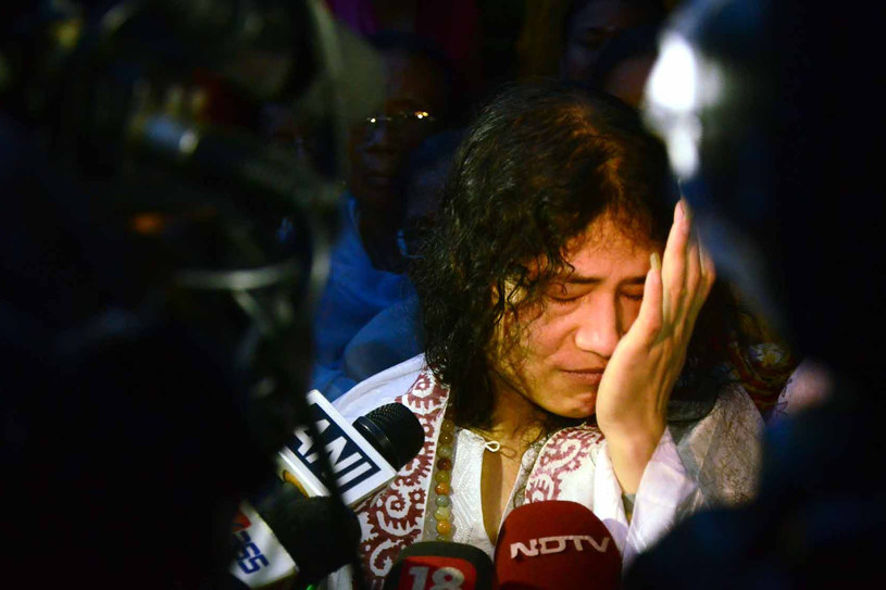 Irom Sharmila /AFP